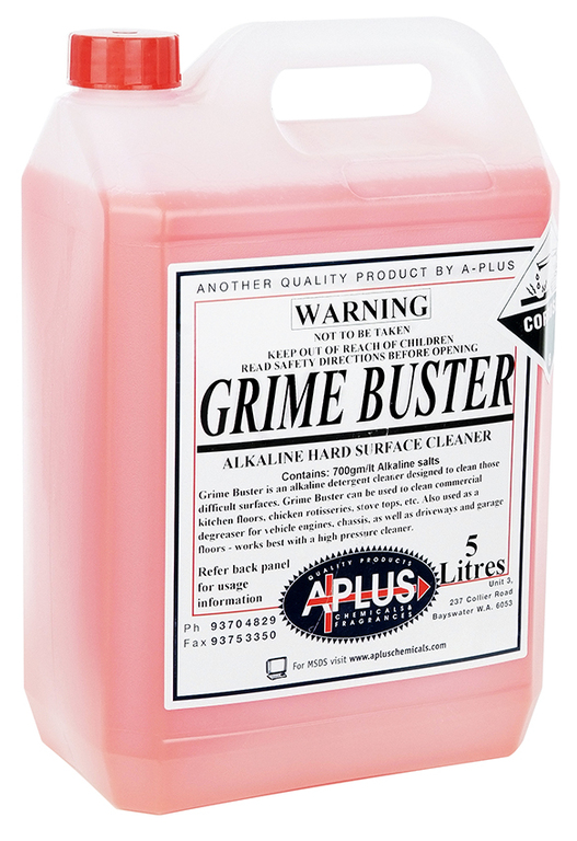 Grime Buster A Plus Chemicals Western Australia