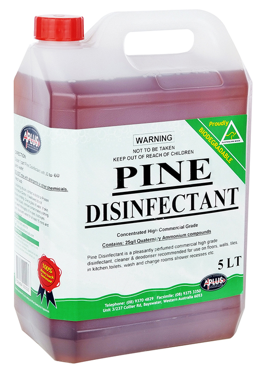 Pine Disinfectant A Plus Chemicals Western Australia
